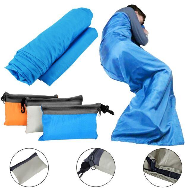 Andes Micro Fleece Envelope Sleeping Bag Liner Inner Camping Sheet