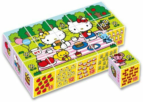 New 15 frames cube puzzle Hello Kitty