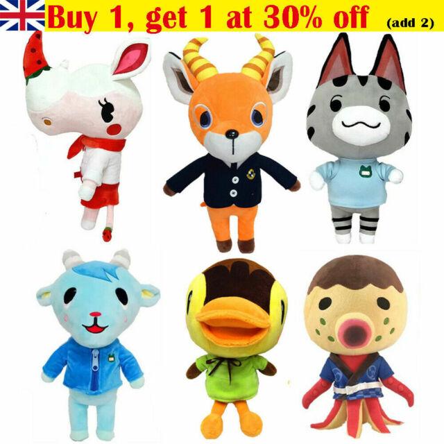 UK Kawaii Doll Stuffed Soft Plush Toy Doll Girls Xmas Gift 18 Inch