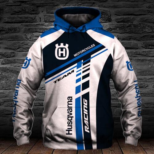 Husqvarna Motorcycles-Racing-Top Gift-Men/'s Hoodie 3D-Size S to 5XL
