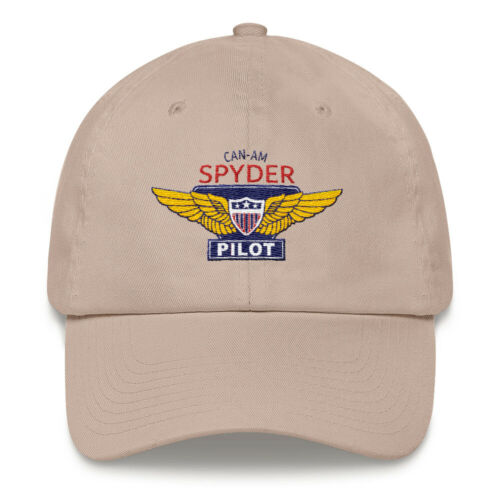 Can-Am Spyder Pilot Embroidered Hat