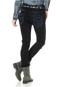 w32 Pantalon Stretch Larina Tube Escape W29 New Boyfriend Jeans 1n854YT