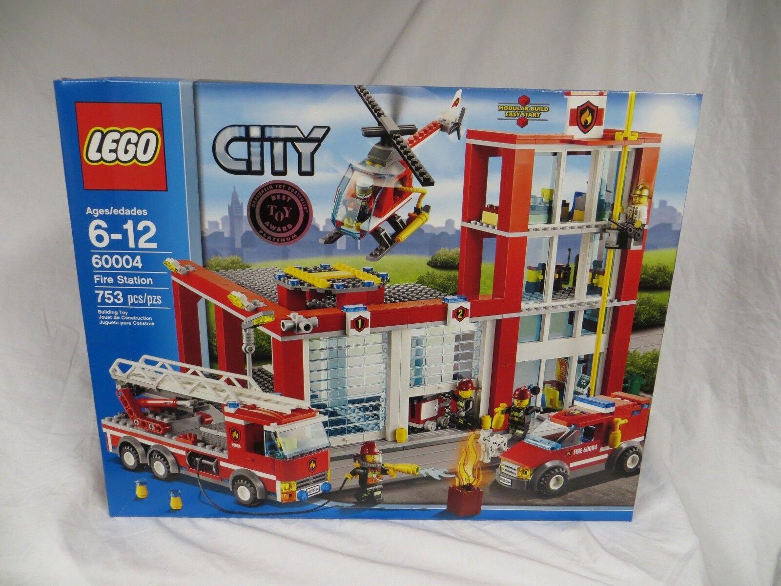 Lego città 60004 Fire Station  BRe nuovo Factory SEALED RETIrosso Set  comprare sconti