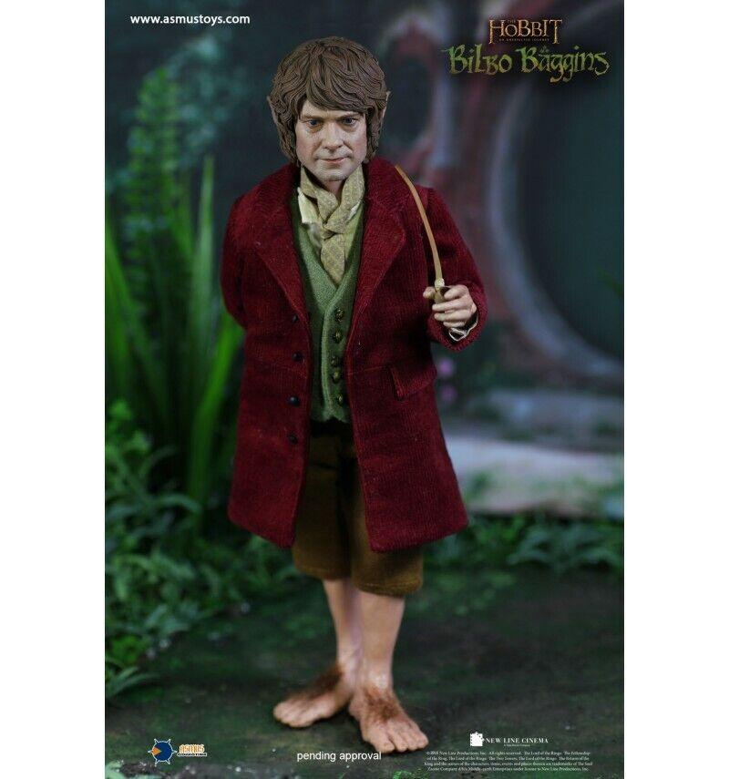 Asmus  giocattoli - Le Hobbit - Figurine 1 6 Bilbo borsagins -Bilbon Saquet - 26cm  negozio di sconto