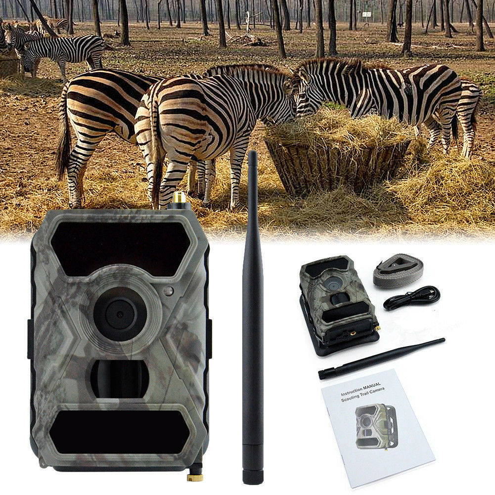 3G Network GSM MMS Game Wide Lens Cam Hunting Camera S880G HD 1080P 12MP Trail