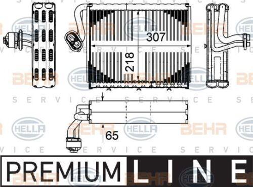 8FV 351 331-181 Hella Evaporador De Aire Acondicionado