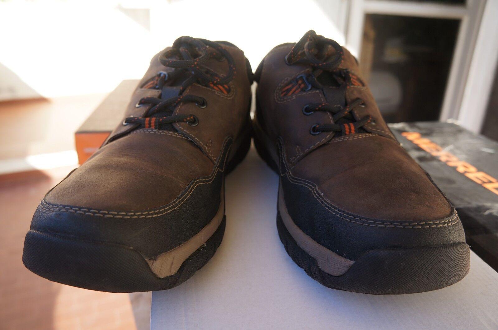 Merrell Annex shoes da Trekking da men, color brown (Dark Earth),  48 -