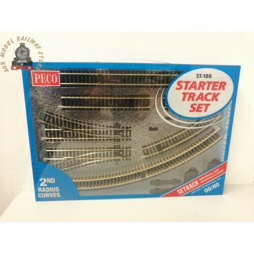 Peco ST-100  Setrack Starter Track Set - OO Gauge