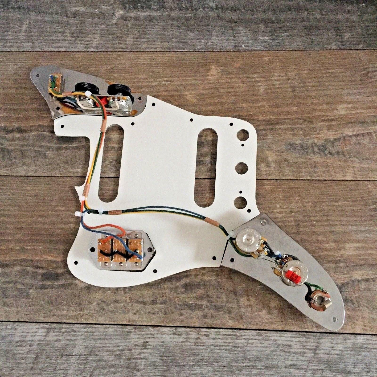 Fender Jaguar 62 Wiring Harness Vintage Wiring Sprague Capacitors USA