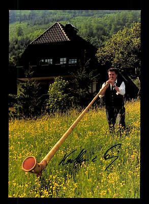 Original, Nicht Zertifiziert Der GüNstigste Preis Alphornsolist Autogrammkarte Original Signiert ## Bc 67879 National