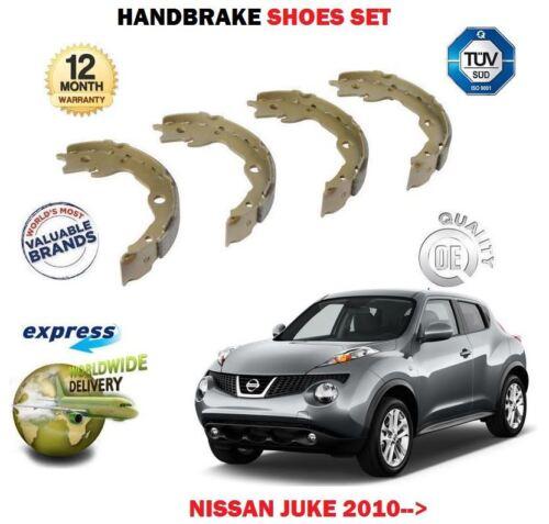 FOR NISSAN JUKE 1.5DT DCi 1.6i TURBO 2010-/> REAR HAND BRAKE SHOES SET