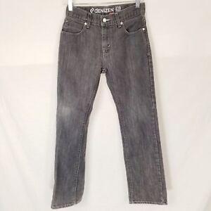 b443b10e Boys Denizen 216 Skinny Fit Jeans Size 14 Regular Gray Faded Black ...