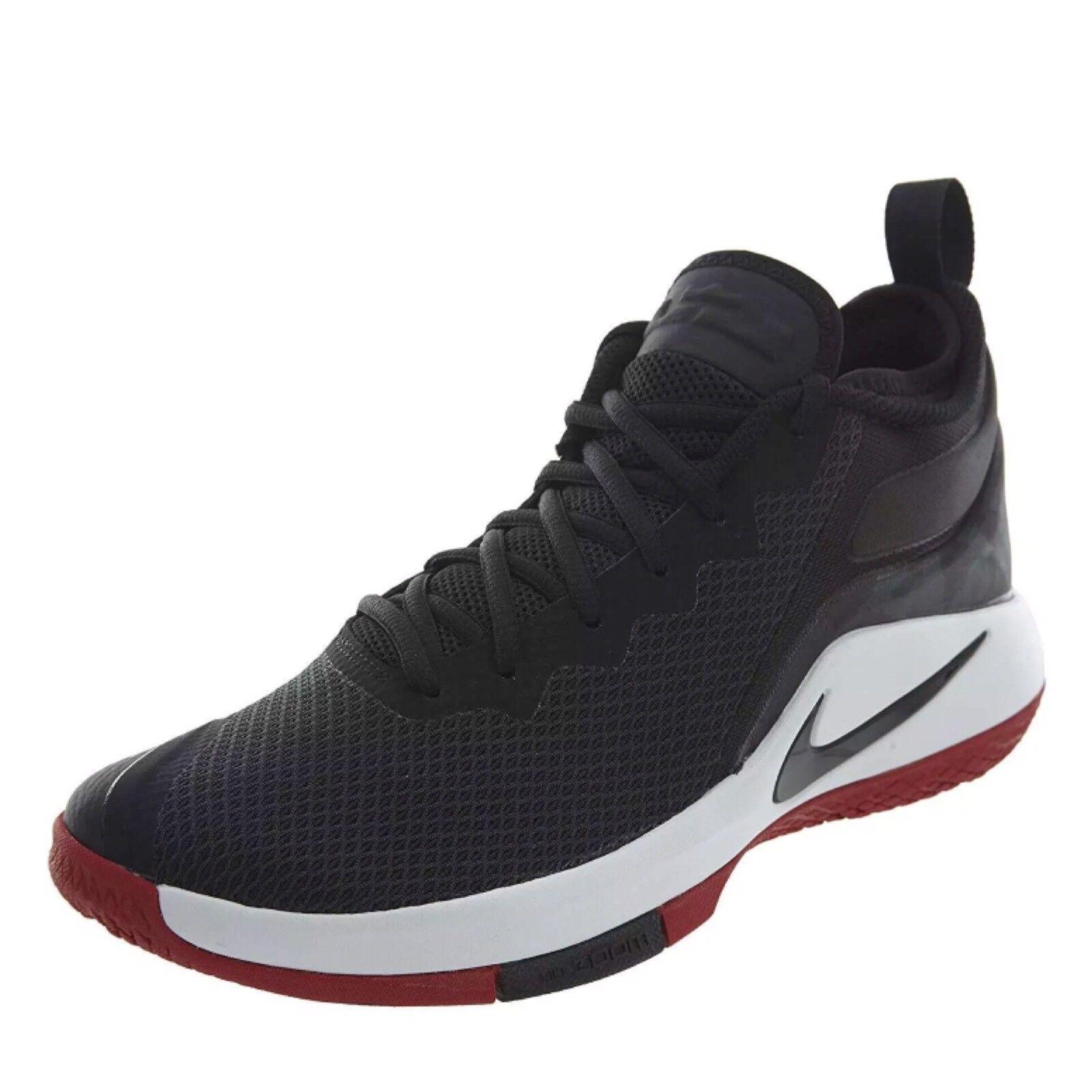 Nike lebron james schwarz - Weiß