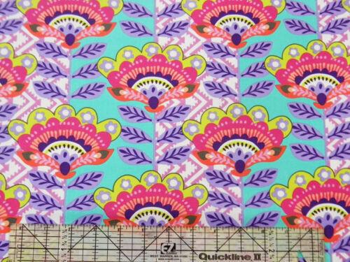 Michael Miller Fiesta Ernesta Flower Grape Fabric BHY
