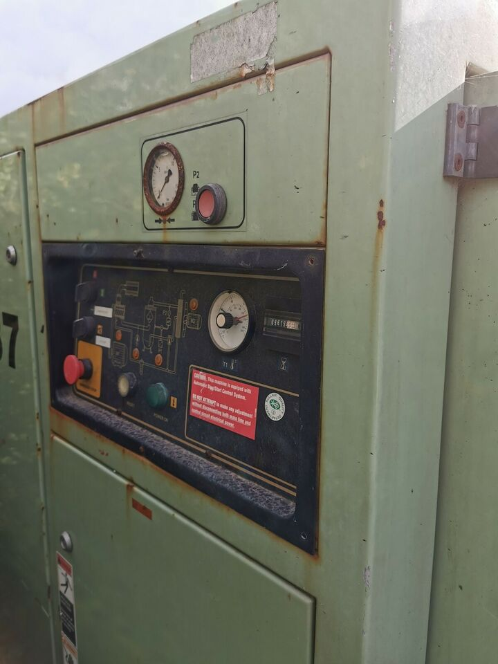Industri skruekompressor