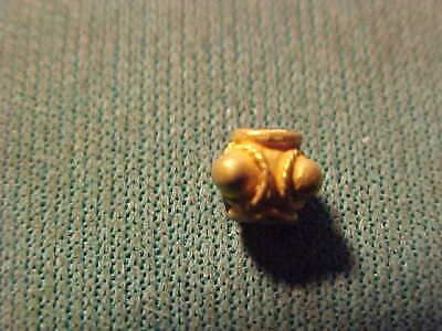 Sasanian gold bead circa 224-642 AD