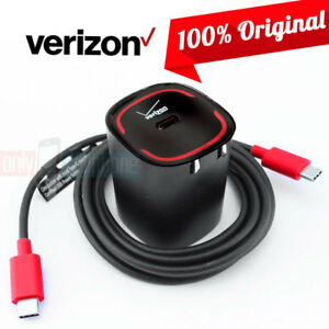 Details about OEM Verizon LOGO Fast Charger Type-C Data Cable for ZTE ZMax  Pro Axon Blade Gran