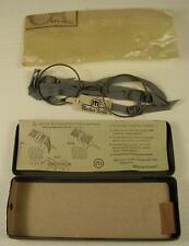 Originale Dienstbrille / Maskenbrille im Etui ungebraucht 2 WK