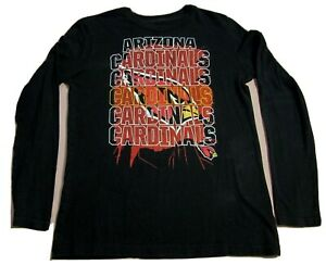 OuterStuff NFL Youth Girls Long Sleeve Hooded Shirt Arizona Cardinals