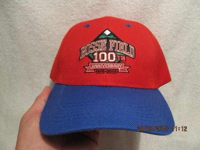 Baseball Cap Souvenir of Bosse Field's 100th Anniversary 1915-2015 Evansville IN