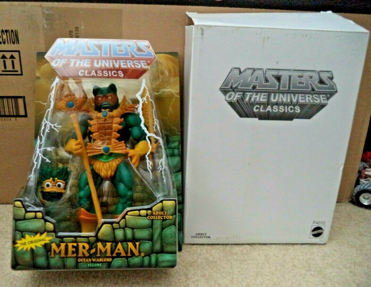 He-uomo Masters of the Universe classeeics  Meruomo mer-uomo ocean warlord P4010 nu  colorways incredibili