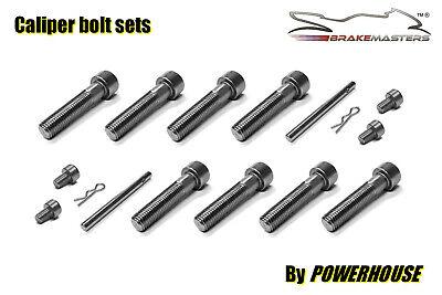 Kawasaki ZXR400 R L rear brake caliper stainless pad pins R clips 1991 1992 1993