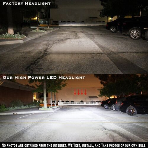 Pair 9007 2300W 345000LM CREE LED Headlight Kit High//Low Beam Bulbs 6000K 2pcs