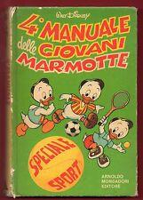 4°MANUALE DELLE GIOVANI MARMOTTE - 1° Ed.Mondadori Editore Maggio 1981