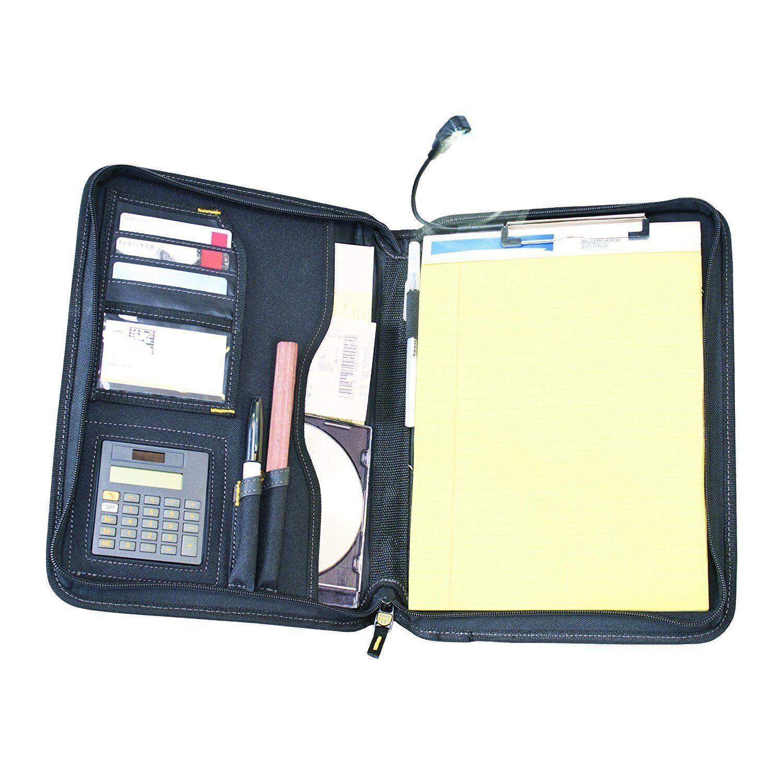 DeWalt DG5142 - Pro Contractor's Business Portfolio w  LED Flex Light Calculator