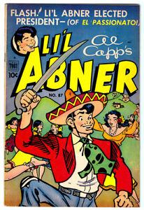 Al-Capp-039-s-LI-039-L-ABNER-87-in-VF-condition-a-1952-Golden-Age-Toby-comic