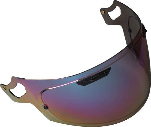 Rainbow Iridium Visor fits Arai RX-7V//Chaser X//V-Type Pinlock Ready