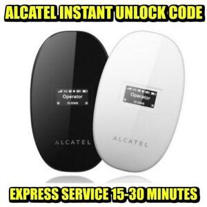 Code De Deblocage Pour Alcatel Y580 Y580d Mobile Wi-fi Instantanément-afficher Le Titre D'origine