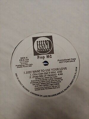 DJX - I Just Wanna Use Your Love (12'' Mix Show)