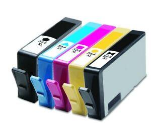 5 Pack New Gen Hp 564xl Ink Cartridge For Photosmart 7510 7515 7520