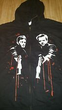 NWT Mens M The Boondock Saints Mcmanus Brothers Gun Blood Shepherd Prayer Hoodie