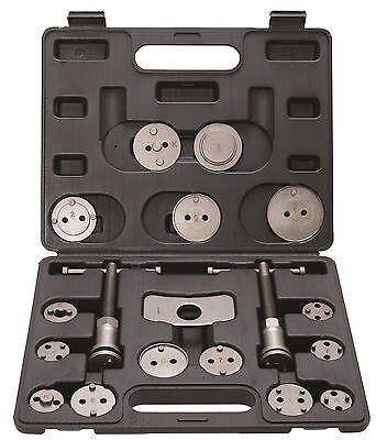 Bremskolbenrücksteller 18 tlg Bremskolbenwerkzeug Bremskolben zurück drehen Satz