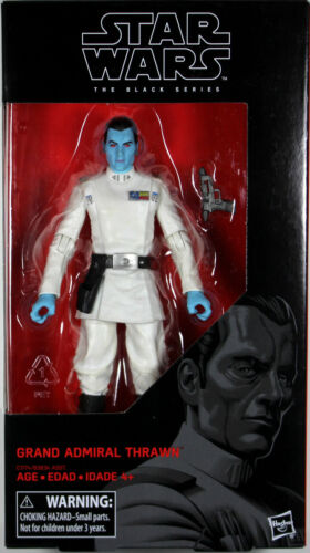 Star Wars Black Series ~ 6 GRAND ADMIRAL THRAWN ACTION FIGURE ~ Hasbro