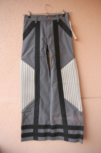 Defence Pants Ripp Silver Größe 38 Gothic//Cyber//Techno Hose von Sektor 1