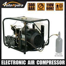 Electric High Pressure Air Compressor Pcp Airgun Tank Filling 4500psi Pump
