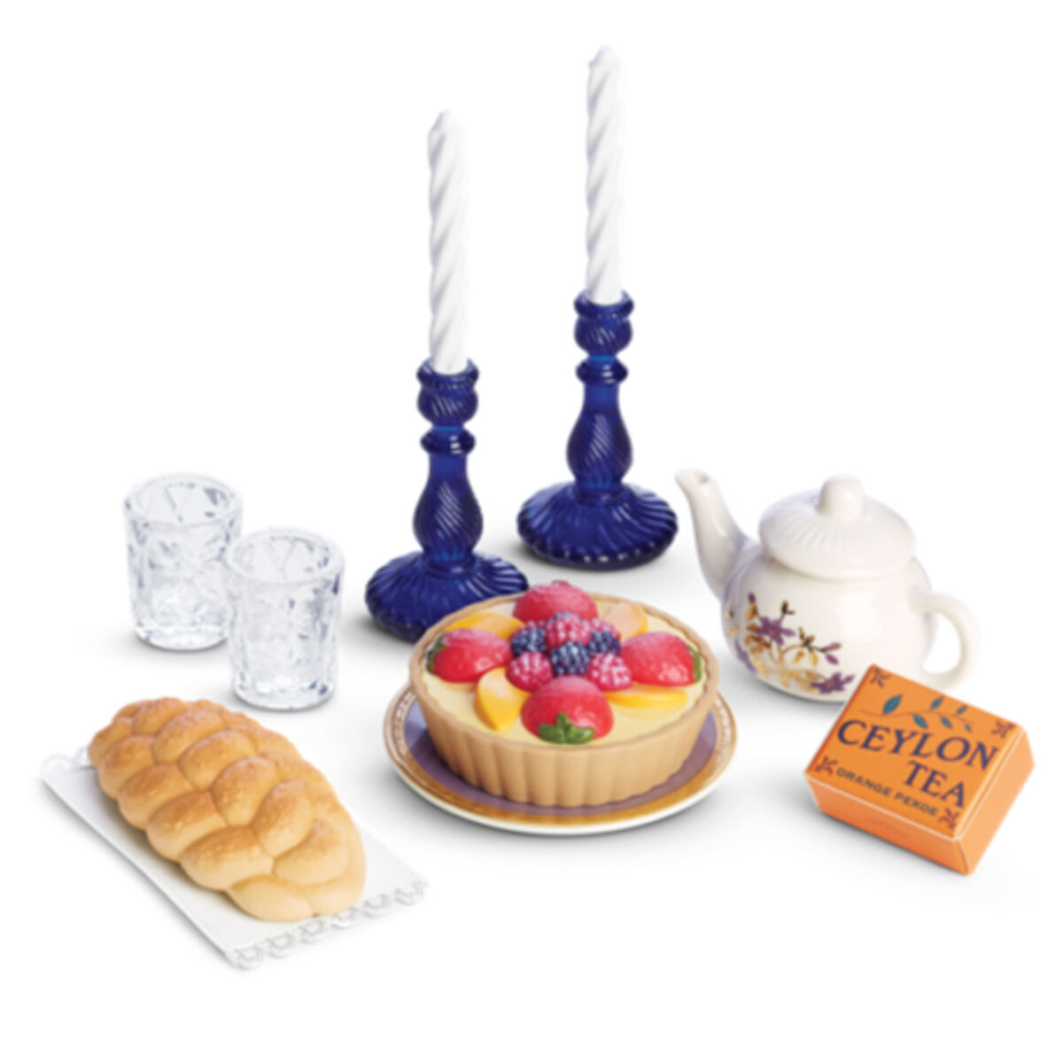 American Girl Rebecca Teatime Traditions für 45.7cm Puppen Teeparty Essen Kerze
