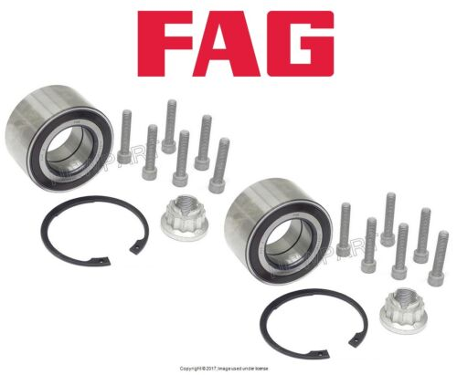 For Land Rover Range Rover Evoque 2012-2016 Pair Set of Two Front Wheel Bearings