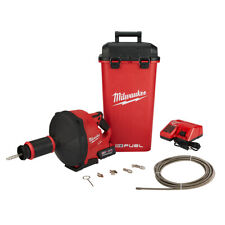 Milwaukee 2772b 21xc M18 Fuel Drain Snake Drain Cleaner With Cable Drive Kit B