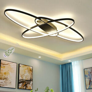 Details about Chic Modern LED Bedroom Light Fixtures Ceiling Decor Lighting  Dining Room Lamps