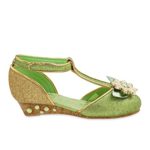 NWT Disney Store Tiana Costume Shoes 7//8,9//10,11//12,13//1,2//3 Princess