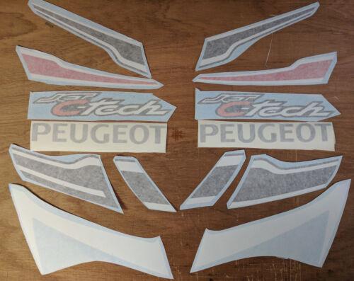 Peugeot Jetforce C-Tech Decal//Sticker kit Original Size 14 piece set jet force