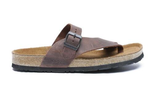 89703d59e9d298 Teva Naot Omer Men Leather Orthopedic Comfort Fashion Flip Flop Sandal
