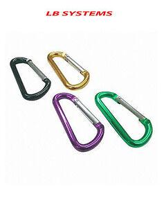 10x Spring Clamps Tente Clip Set auvents Pince clips tente serrer pour extérieur