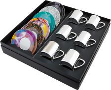 Damien Hirst-Box Set di 6 – Misto Anamorfico tazze e piattini