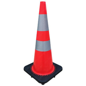 Traffic-Cones-Road-Safety-Orange-18-to-36-034-Heights-Electriduct
