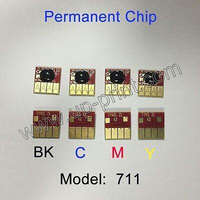 For HP Designjet T120 T520 Model 711 chip  show ink level version